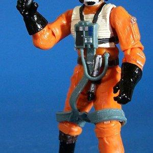 Star Wars Action Figure Luke Skywalker Pilot Hasbro