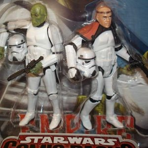 Star Wars Comic Pack Mouse and Basso as Stormtroopers Hasbro