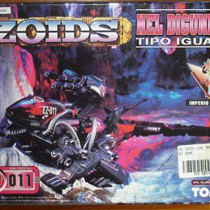 ZOIDS Hel Gunner Model kit Tomy