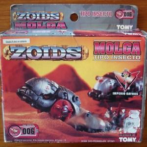 ZOIDS Molga Model Kit Tomy