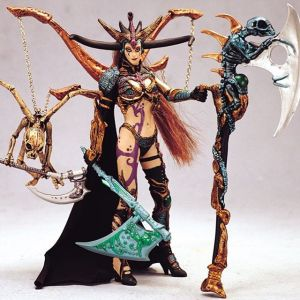 Spawn Skull Queen Action Figure Mc Farlane Toys