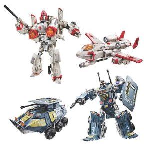 Transformers Universe Powerglide and Onslaught Hasbro