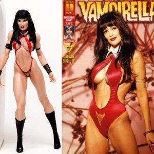 Vampirella Julie Strain Edition Action Figure