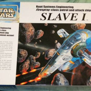 Star Wars Jango Fett Slave-1 1/72 Model Kit Fine Molds