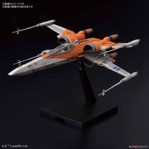 Star Wars Ep.09 Poe Dameron T-70 X-Wing Fighter 1/72 Model Kit BANDAI