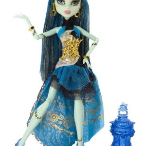 Boneca Monster High Frankie Stein 13 Wishes Assinada