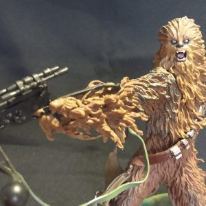 Star Wars Chewbacca Unleashed Statue Hasbro