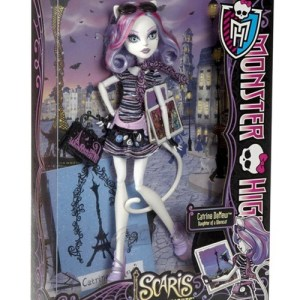 Boneca Monster High Catrine DeMew Scaris