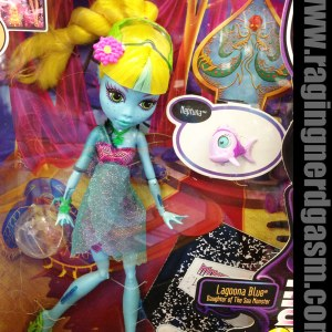 Boneca Monster High Lagoona Blue 13 Wishes Assinada