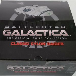 Battlestar Galactica Cylon Raider Clássica Eaglemoss