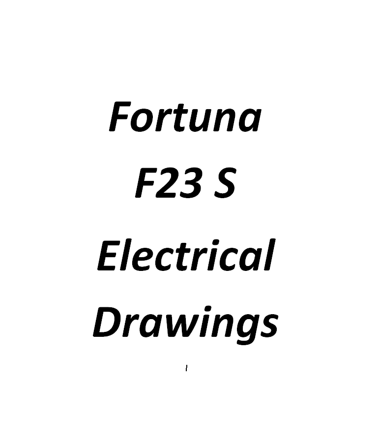 Fortuna 654 F23 S 630A45 Electrical Drawings