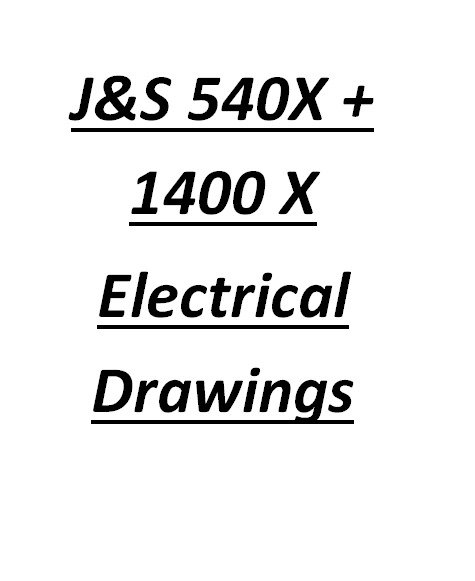 Jones And Shipman 540X & 1400X Electrical Drawings