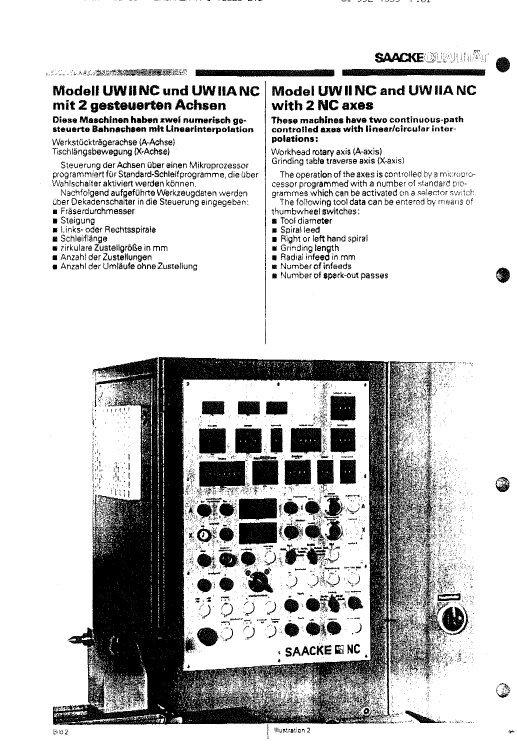 Isotron Saacke UWIINC and UWIIANC Electrical Drawings