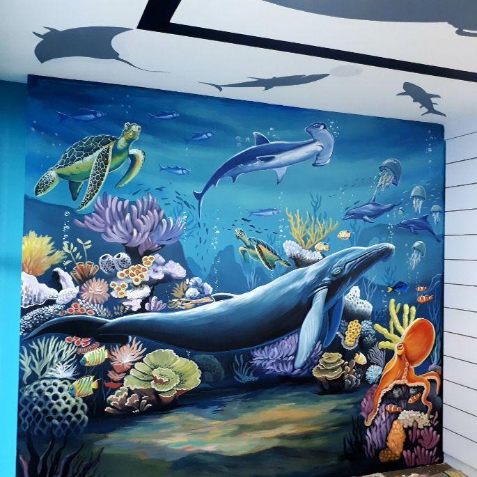 Lukisan Dinding Dengan Berbagai Tema Untuk Dekorasi Rumah Anda