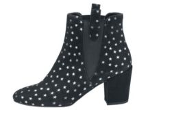 Chelsea Boots mit Muster