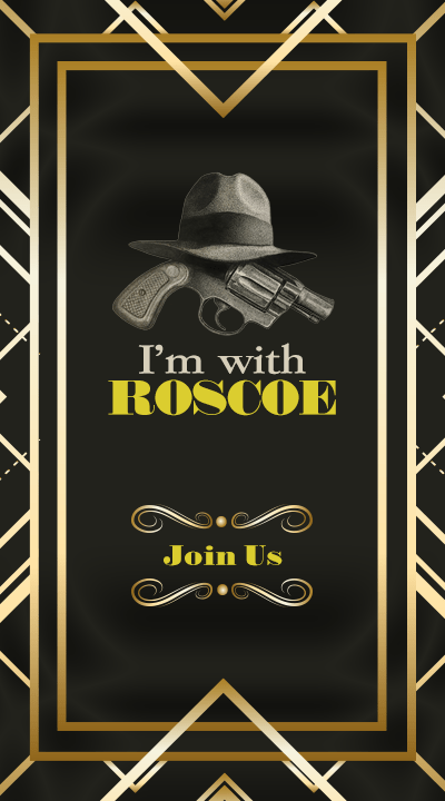 I'm with ROSCOE Join Us