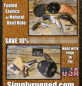 Simply Rugged Holsters – 10% Off