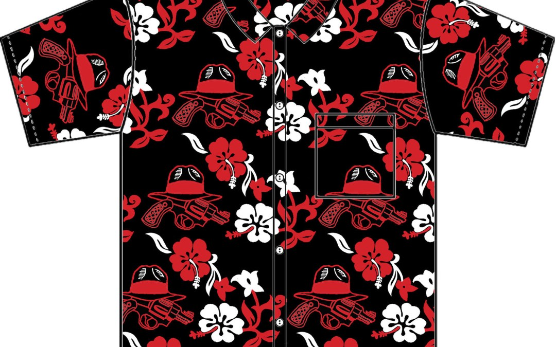 Red Hawaiian Shirts available for pre-order