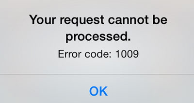 How to Fix Error Code 1009 When Downloading Apps from App
