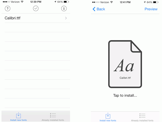 Top 4 Ways to Change Text Font on iPhone/iPad (iOS 12