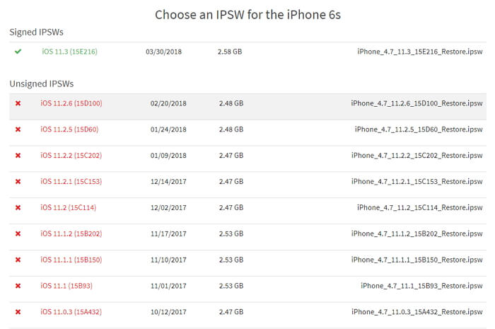 Where to Download iPhone Firmware Files from & How to