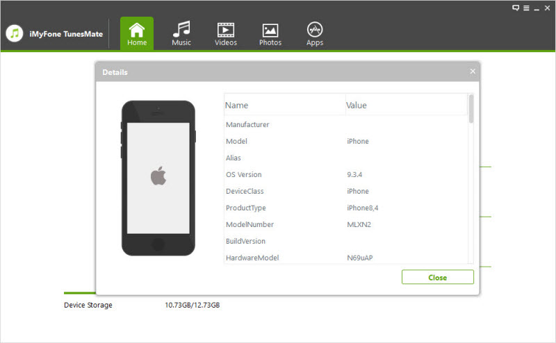 iMyFone TunesMate User Guide