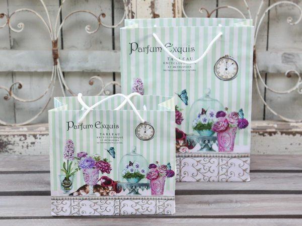 """Geschenktasche mit Griff """"Parfum Exquis"""""""