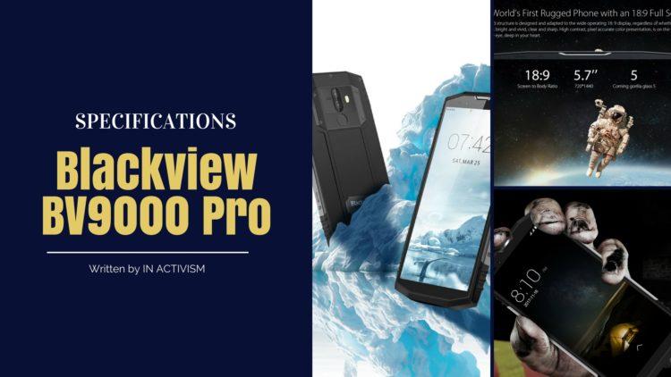 Blackview BV9000 Pro スペック詳細|IP68防水防塵対応タフネスボディスマホ