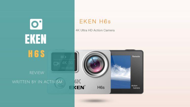EKEN H6s スペック詳細・レビュー・感想|4K+EISテクノロジー搭載の中華GoPro