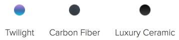 Twilight Carbon Fiber Luxury Ceramic