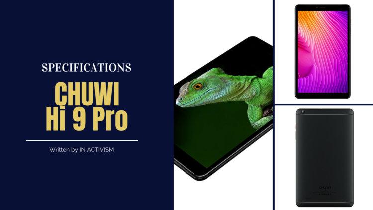 CHUWI Hi9 Pro スペック詳細|JDI8.4インチ2Kディスプレイゲーミングターミネータータブレット