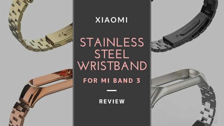 Mi Band 3 交換用リストバンド/ ストラップ レビュー 安価なスマートバンドに高級感や個性をアップ