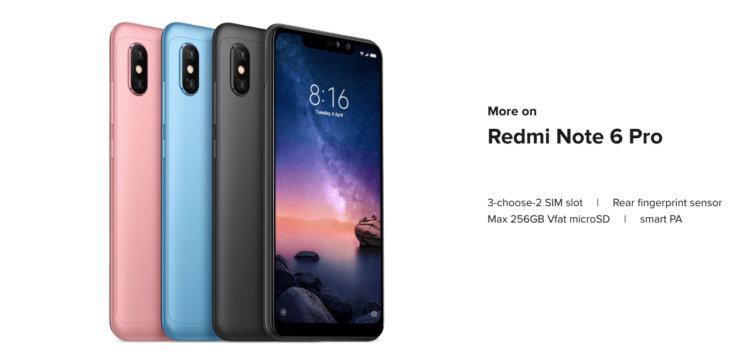 Xiaomi Redmi Note 6 Pro 概要