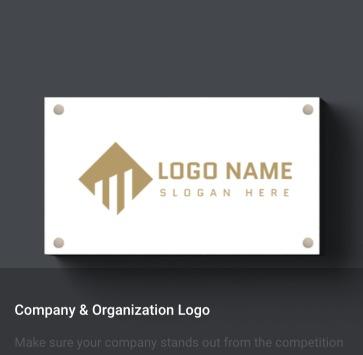 会社や組織のロゴ作成