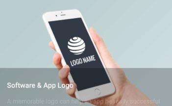 ソフトウェア・アプリなどのロゴ作成