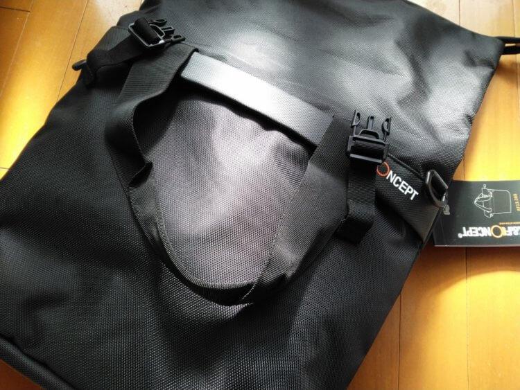 カメラバッグ(Classic Camera Backpack)本体の機能性