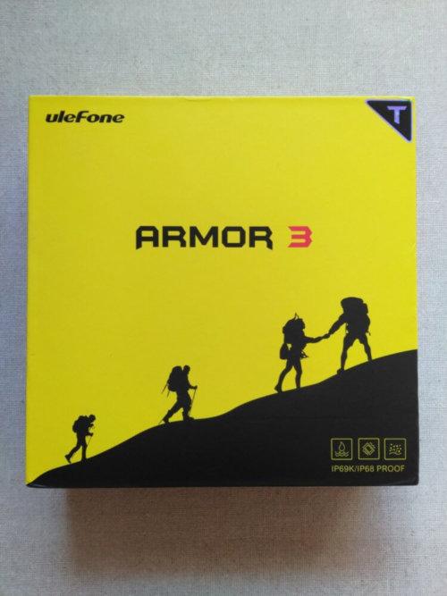 Ulefone Armor 3T 化粧箱・パッケージ前面
