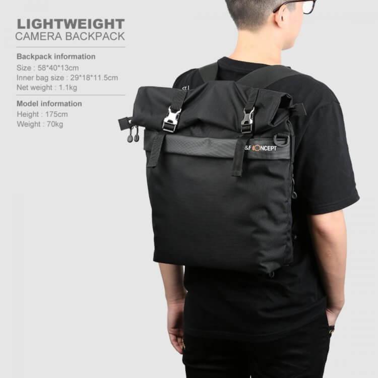 Large Shoulder Messenger Bag for DSLR Camera Photographyスペック紹介