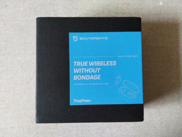 SoundPEATS(サウンドピーツ) TrueFree+ ワイヤレスイヤホン 化粧箱・パッケージ