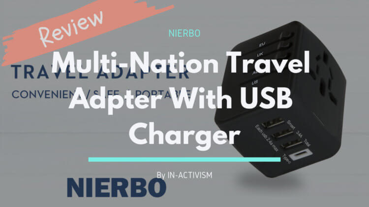 NIERBO マルチ変換プラグ レビュー|世界中のコンセントに対応したオールインワン充電器