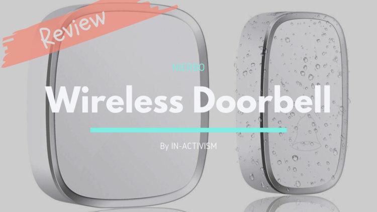 NIERBO ワイヤレスチャイム レビュー|簡易ドアベルや呼び鈴としておすすめ廉価モデル