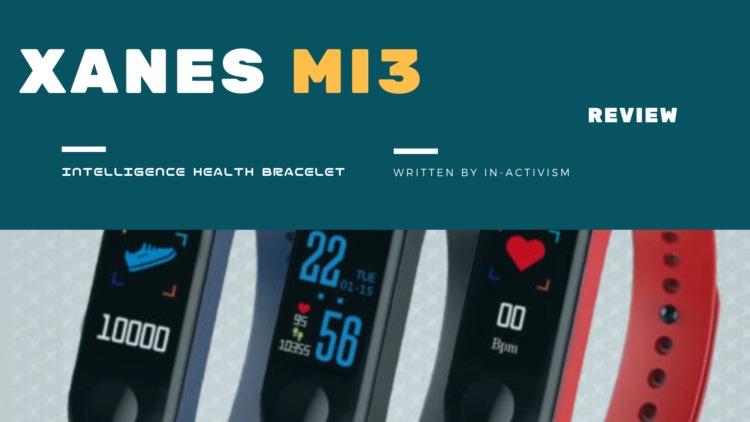 XANES MI3 IP68 スマートブレスレット レビュー|Mi Band 3ソックリ1000円代ハイコスパスマートウォッチ