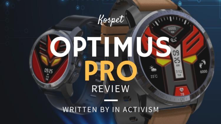 Kospet Optimus Pro レビュー|デュアルCPU・OS搭載4GLTE対応AMOLEDディスプレイスマートウォッチ
