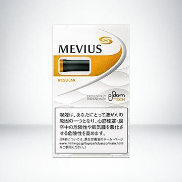 STANDARD LINE】MEVIUS REGULAR for Ploom TECH 【スタンダードライン】メビウス・レギュラー・フォー・プルーム・テック外観