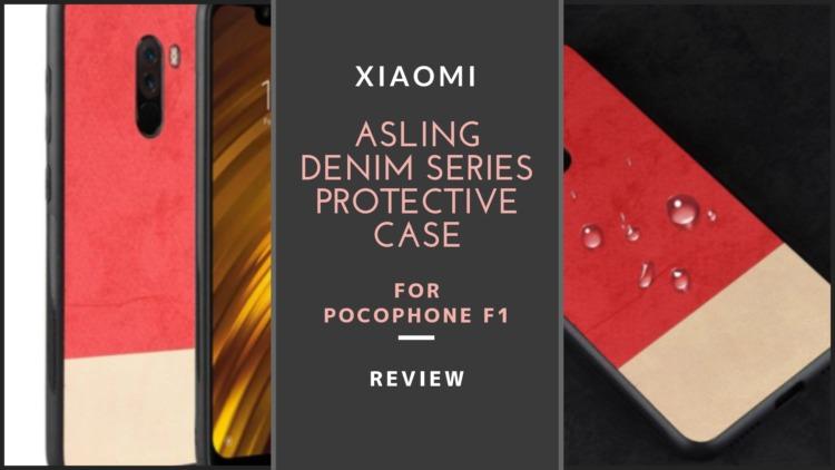 Xiaomi Pocophone F1用ASLING デニムシリーズ保護ケース レビュー|ツートーンカラーがオシャレなフィット感バッチリのスマホケース