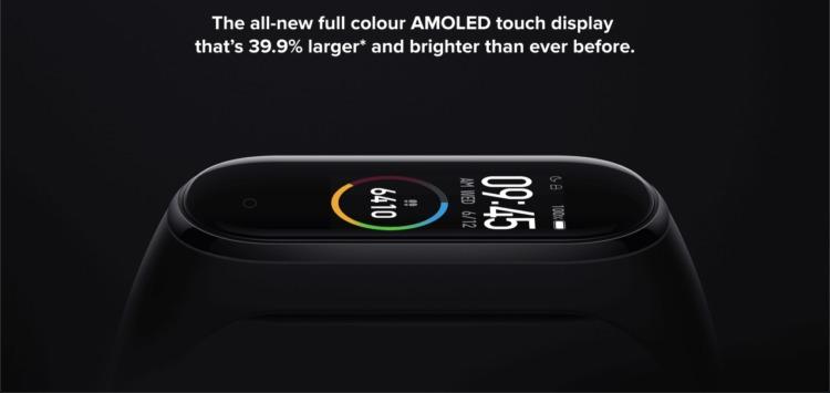 Xiaomi Mi Band 4 製品の特徴・概要