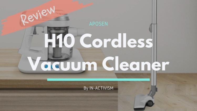 APOSEN コードレス掃除機 H10 レビュー|ターボ機能搭載サイクロン式ハイコスパハンディクリーナー