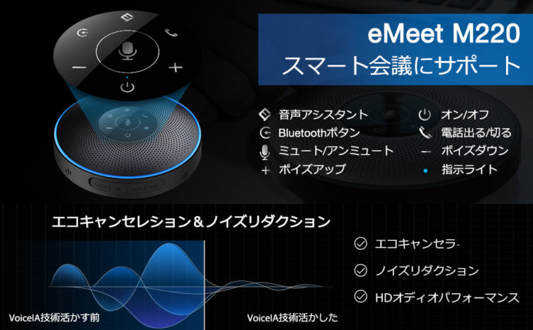 eMeet Office Core M220 Lite 製品概要・特徴