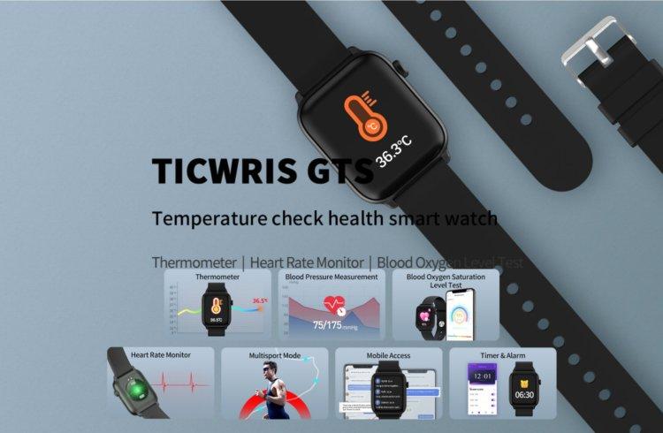 TICWRIS GTS スマートウォッチ インプレッション