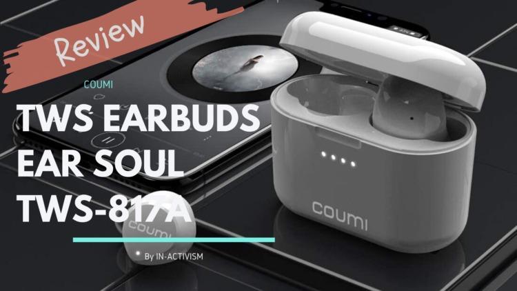COUMI 完全ワイヤレスイヤホン TWS-817A レビュー|Hi-Fiクオリティサウンド、Bluetooth 5.0対応色々惜しいハイコスパイヤホン